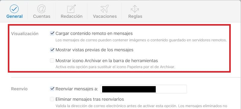 Sacarle provecho iCloud Mail