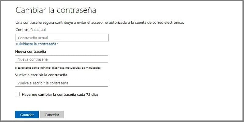 Proteger tu cuenta Hotmail