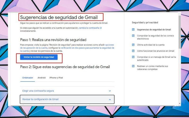 Recomendaciones para prevenir que se borren los correos de tu Gmail