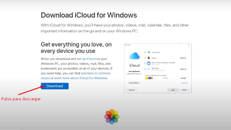 iCloud Mail para Windows