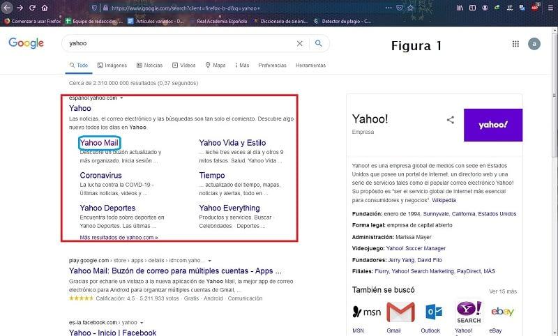 Crear cuenta Yahoo!