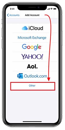 colocar otra cuenta hotmail en iphone