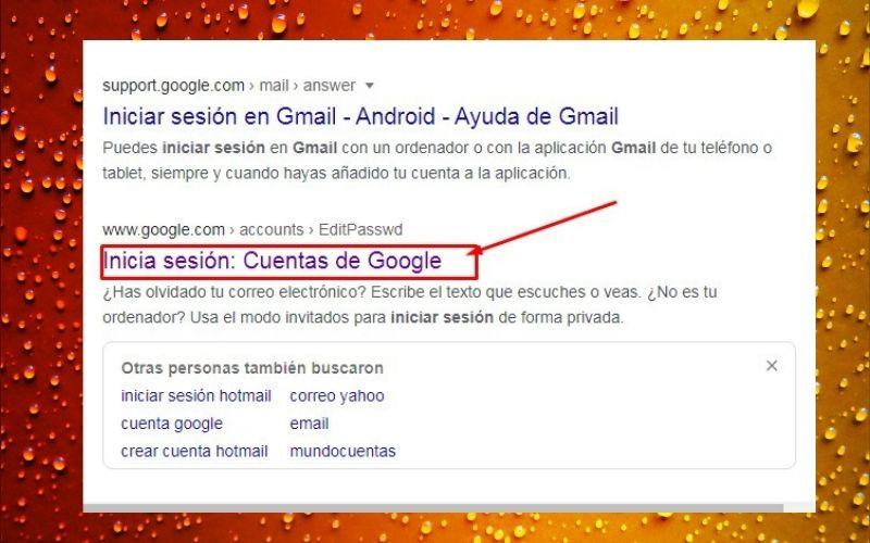 inicia sesión en tu Gmail