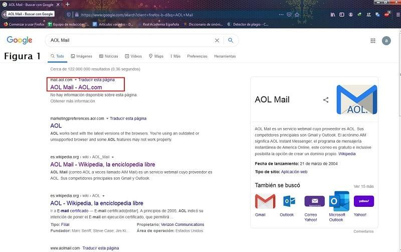Crear cuenta AOL Mail