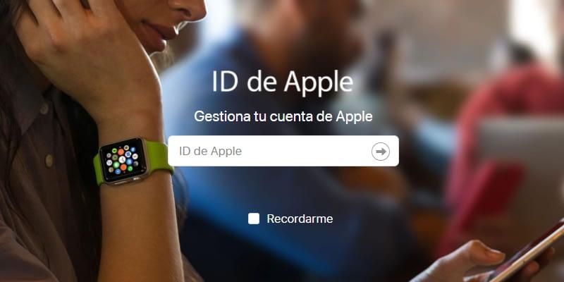 Cambio de correo para iniciar sesión en iCloud Mail