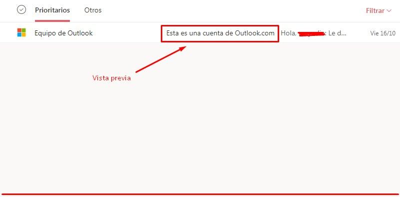 Cambiar diseño entrada Outlook