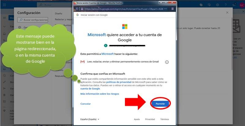 Migrar la información de Gmail a Hotmail